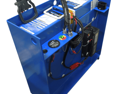 Unique battery system for electric pallet trucks