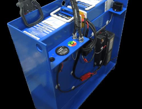 Einzigartiges Batteriesystem für elektrische Hubwagen