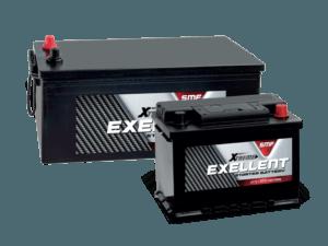Exellent startbatterijen auto bestelwagen