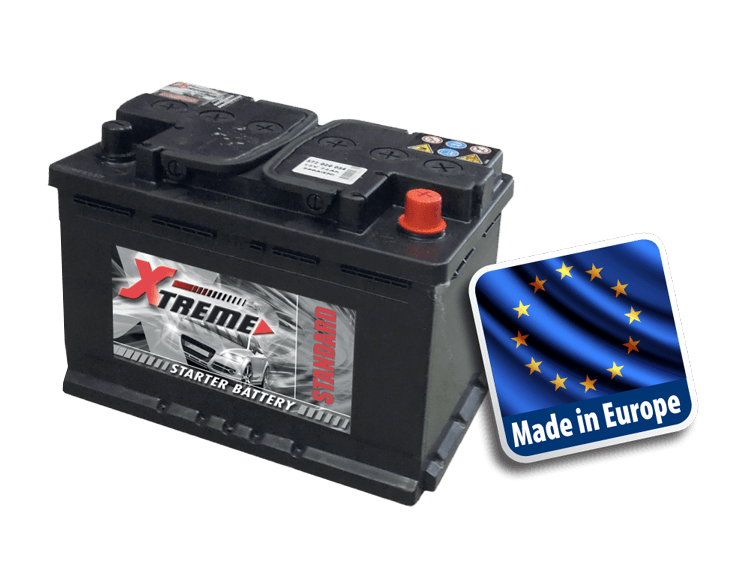 Xtreme standard auto bestelwagen