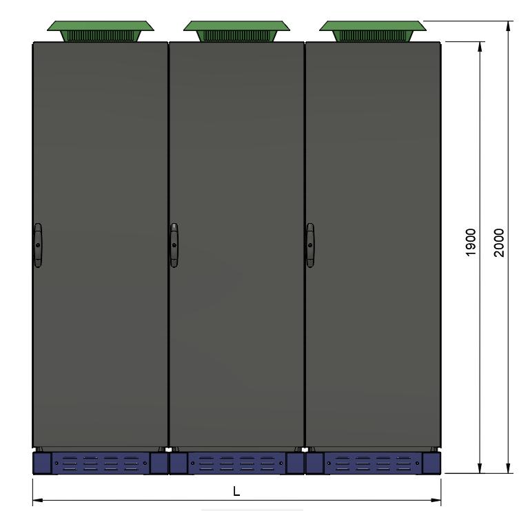 AQ-LITH ESS industriële batterij front