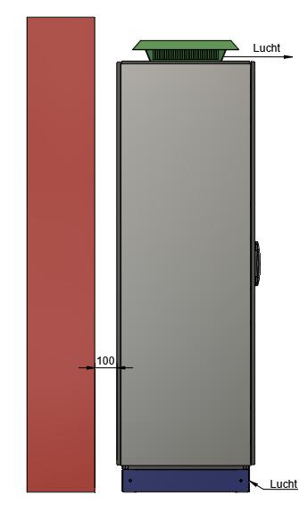 AQ-LITH ESS Industriële batterij side