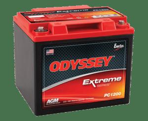 Odyssey startbatterij starter battery de démarrage