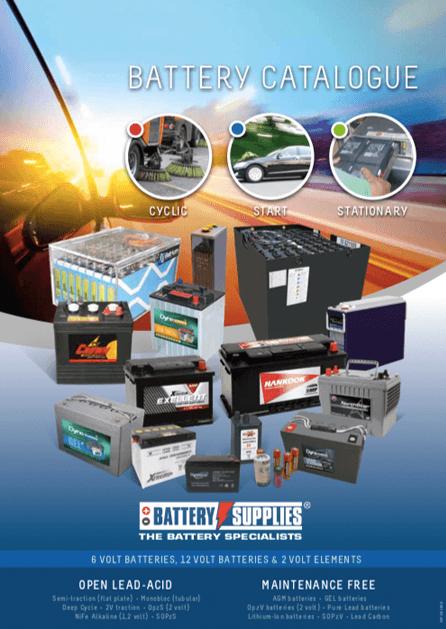 Downloads: catalogs, brochures,    - Battery Supplies