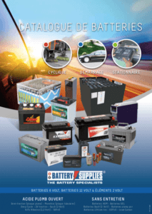 Catalogue de batterie