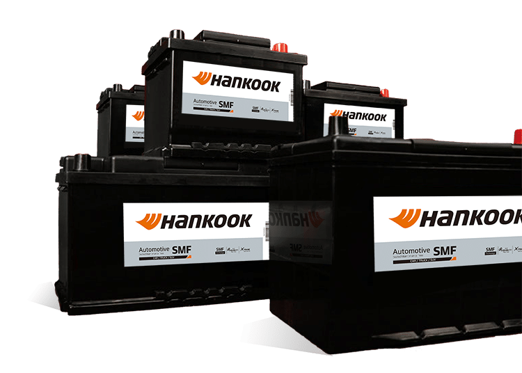 Hankook startbatterijen start batteries de démarrage