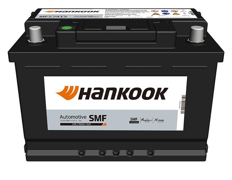 Hankook startbatterijen start batteries de démarrage SMF