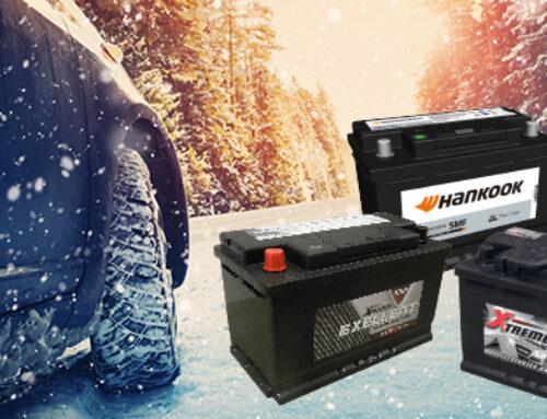 Winteractie op startbatterijen