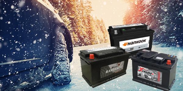 Winteractie op startbatterijen Promotion d'hiver